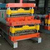 Exportar máquina de formação de rolos de folhas de telhado de metal padrão