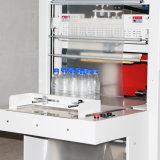 Botella funda retráctil Manual de la máquina de envasado retráctil de la máquina