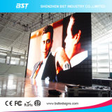 Le plus bon marché P10mm SMD3528 Intérieur à la couleur Transparent Curtain / Mesh LED Display Screen