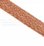 グラウンド・ケーブルワイヤー、柔らかい接続は、編みこみのラインを銅張りにする