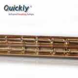 速い反作用の乾燥システムのための赤外線暖房ランプ