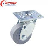 Hochleistungsfußrolle des schwenker-4inches mit rundem TPR Rad