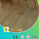 12.3mm HDF Embossed Oak V-Grooved, das Laminated Floor Ton-aufsaugt