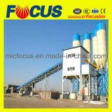Pianta d'ammucchiamento concreta Hzs120 con la betoniera forzata Js2000