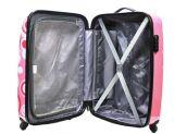 紡績工が付いているパターン荷物ABS+PCのトロリー袋は荷物を動かす
