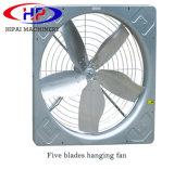 Desligar o ventilador de exaustão para ventilação Casa de vaca