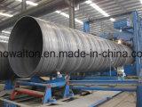 Pijp Met hoge weerstand van het Staal 500/Hsaw van Contruction Materials/ASTM A252 ASTM de Spiraal Gelaste