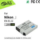 De nieuwe Decoderende Digitale Batterij van de Camera voor Engels-EL12 de Navulbare Batterij van het Lithium Nikon