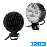 12W 3inch 둥근 Epistar LEDs 자동 램프 LED 일 빛