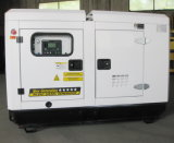 conjunto de generador diesel silencioso de potencia de 70kw/87.5kVA Cummins/Genset