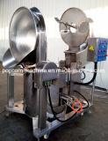 Machine chauffée au gaz industrielle de maïs éclaté de caramel à vendre