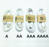 Cabo de dados prendido do USB do cabo do telefone de pilha acessórios móveis micro para Samsung