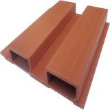 Крытая доска панели стены материалов WPC украшения деревянная пластичная составная