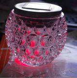 2016 Lâmpada LED solar com iluminação e decoração