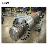 Auto-Peças de aço inoxidável do Tubo de Óleo da Haste do Pistão de Ação Individual do cilindro do óleo hidráulico telescópico