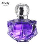 100ml géométrique de polissage du verre bouteille de parfum pour les femmes parfum
