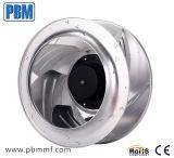 DC Backward Curved ventilateur centrifuge avec Designer