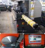 Het halfautomatische Knipsel van de Schakelaar van de Hoek zag Machine voor het Profiel van het Aluminium