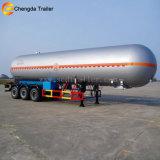 Dei 3 assi GPL LNG dell'autocisterna rimorchio di olio combustibile semi