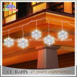 Des China-LED beleuchtet helle frische Schneeflocke 2015 Entwurfs-Weihnachtenled LED-Zeichenkette-Lichter
