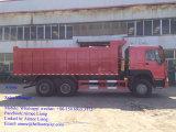 Sinotruk 6X4のダンプカートラック30のトンHOWOの重いダンプトラック
