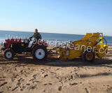 手動中国のトラクターによって引かれる浜の洗剤機械