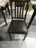 Precio apilable atrás pequeños de acero sillas de comedor de banquetes baratos