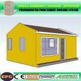 Camera prefabbricata installata facile del contenitore dell'ufficio mobile della struttura d'acciaio di Prefabricatedc