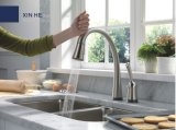 Небольшой радиус кухни из нержавеющей стали с двойной раковиной чашу (HD01)