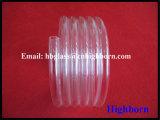 Hoher Reinheitsgrad-Raum-schraubenartiges Quarz-Glasgefäß