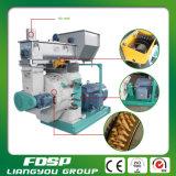 Широко используемая лепешка биомассы деревянная делая машину с емкостью 2tph