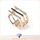 Кольцо серебра кольца 925 женщин людей Zirconia серебряного кольца Serling кубическое (R10297)