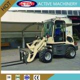 0.8ton/800kg hete Verkoop en de MiniLader Van uitstekende kwaliteit van het Wiel ZL08 voor verkoop
