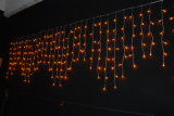 144LEDs Christmas Holiday Decoration Red LED Icicle Lights