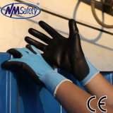 Nmsafety 18g утончает покрынную PU перчатку работы безопасности отрезока упорную