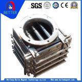 Grade Magnética retangular de certificação ISO/Separador do Tipo Grade para remoção de ferro