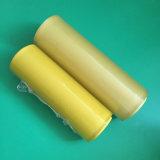 Película del abrigo del alimento del PVC de 11 micrones para el embalaje de la fruta