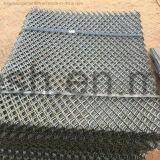 Folha de metal expandida padrão do aço de carbono
