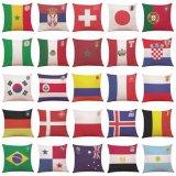 국기를 채우는 PP 면은 판매를 위한 방석을 베게를 밴다