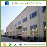 Construcción de la casa prefabricada del edificio del taller del marco de acero