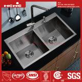 ハンドメイドの流し、台所の流し、ステンレス鋼の流し、流し、台所洗面器、ステンレス鋼タンク