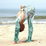 a ioga impressa 3D arfa as caneleiras dos esportes (3079)