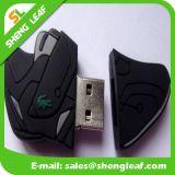USB de borracha personalizado personalizado para promoção (SLF-RU002)