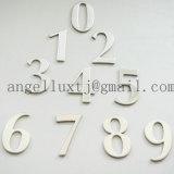 プロバティ名および屋家番号のためのステンレス鋼の印の文字そしてロゴ