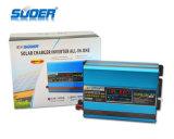 Инвертор солнечной силы DC 12V 220V Suoer 1000W автоматический с Built-in солнечным регулятором (SUS-1000A)