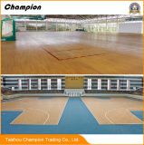 2018 el baloncesto de calidad superior de la venta caliente PVC/Vinyl se divierte el suelo, superficies del vinilo para el suelo del PVC de la cancha de básquet