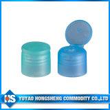 Tampão da parte superior da aleta da torção para o frasco plástico