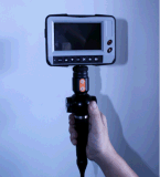 """Neue IndustrievideoEndoscope mit Artikulation der Spitze-4-Way, 5.0 """" LCD, 4m prüfenkabel"""
