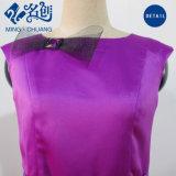 Graciosa Purple Slim sexy vestido de señoras la moda con el derecho Bowknot