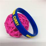 Alta qualidade feita sob encomenda dos braceletes do silicone da manufatura profissional